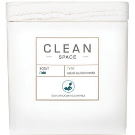 Clean Space Rain Candle Candle