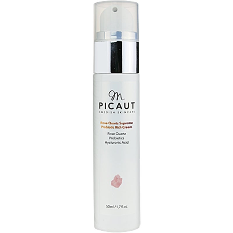 M Picaut Swedish Skincare Rose Quartz Supreme Probiotic Rich Cream