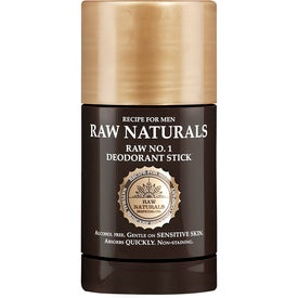 Raw Naturals by Recipe for Men No1 Deodorant Stick