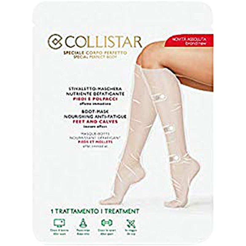 Collistar Boot-Mask Nourishing Anti-Fatigue Feet and Calves