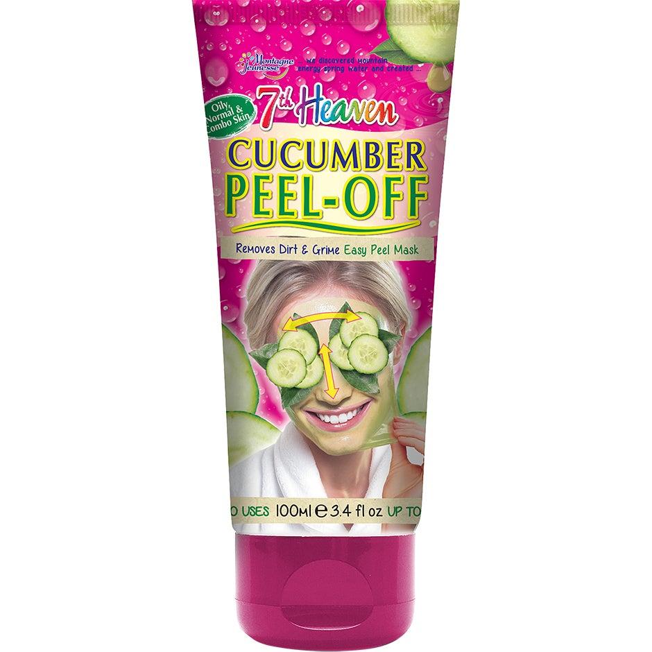Bilde av Kjøp Cucumber Peel-off Mask, 100 Ml 7th Heaven Ansiktsmaske Fri Frakt
