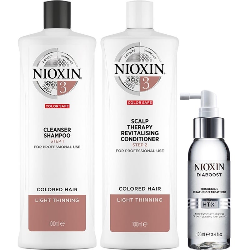 Nioxin System 3 Trio For Colored Hair