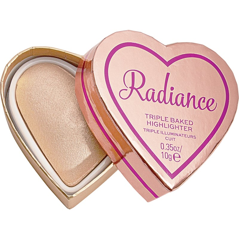 Makeup Revolution I Heart Revolution Glow Hearts Rays of Radiance Highlighter