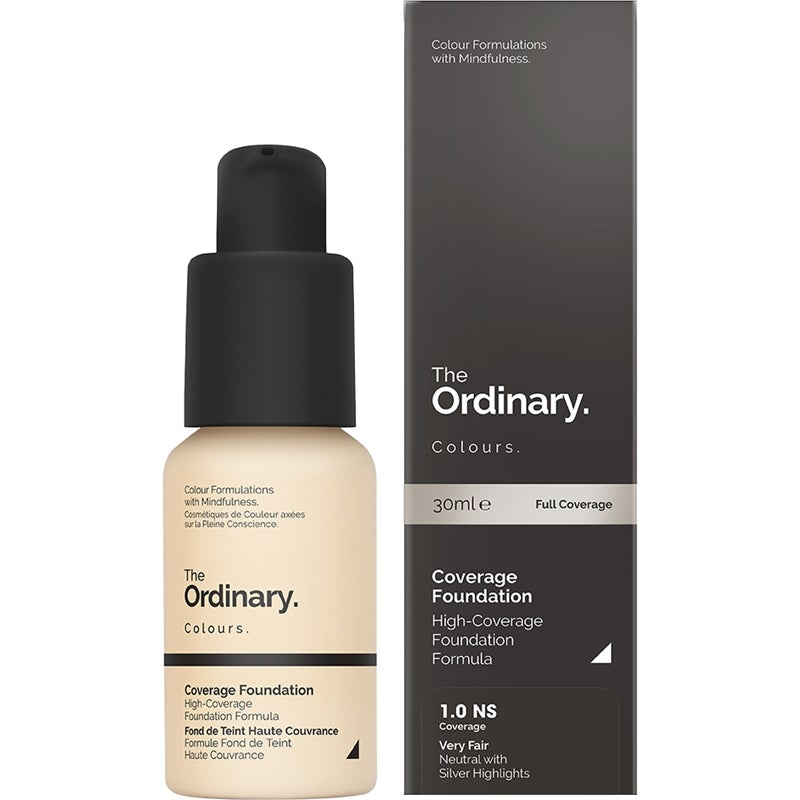 The Ordinary. Coverage Foundation