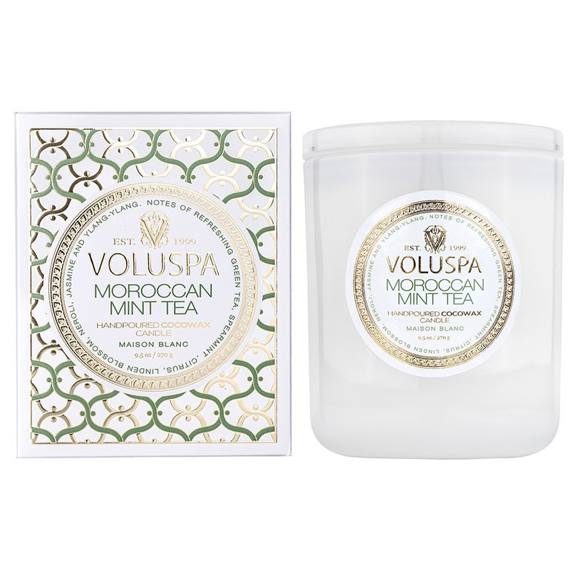 Voluspa Classic Boxed Candle