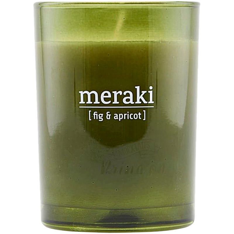 Meraki Fig & Apricot Scented Candle