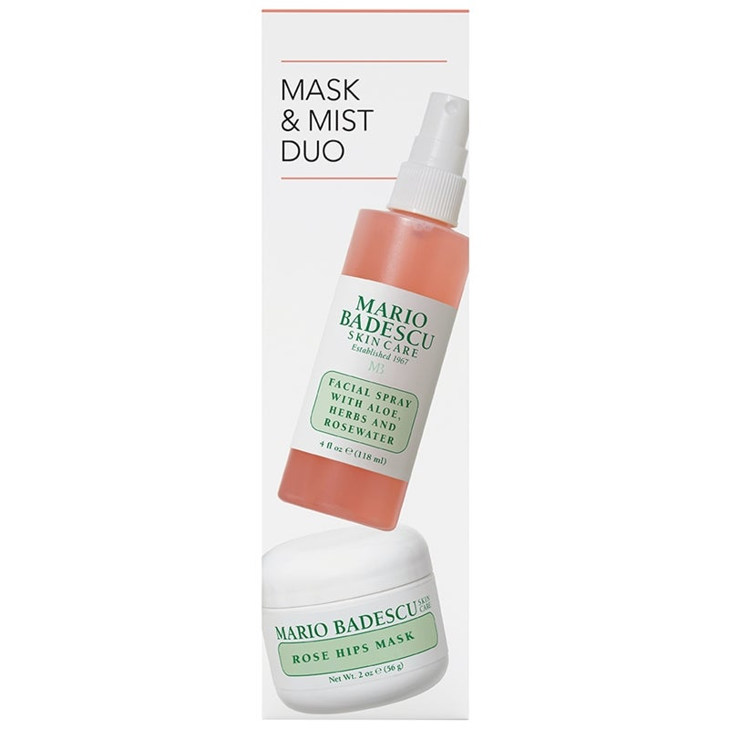 Mario Badescu Rose Mask & Mist Duo
