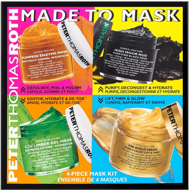 Peter Thomas Roth Made To Mask 4 piece kit
