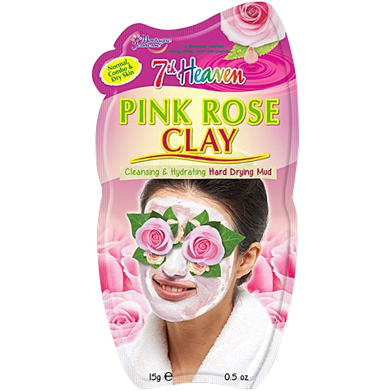 7th Heaven Pink Rose Clay Face Mask