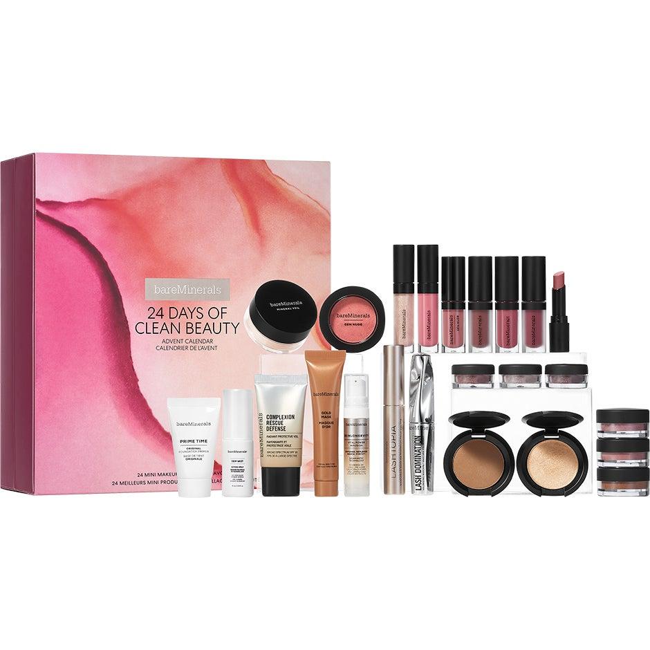 Bilde av Kjøp 24 Days Of Clean Beauty Advent Calendar, Bareminerals Makeup Set Fri Frakt