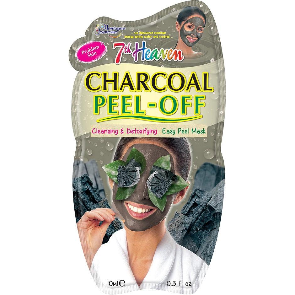 Bilde av Kjøp Charcoal Peel Off Mask, 7th Heaven Ansiktsmaske Fri Frakt
