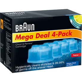 Braun Clean & Renew Cartridge 4-Pack