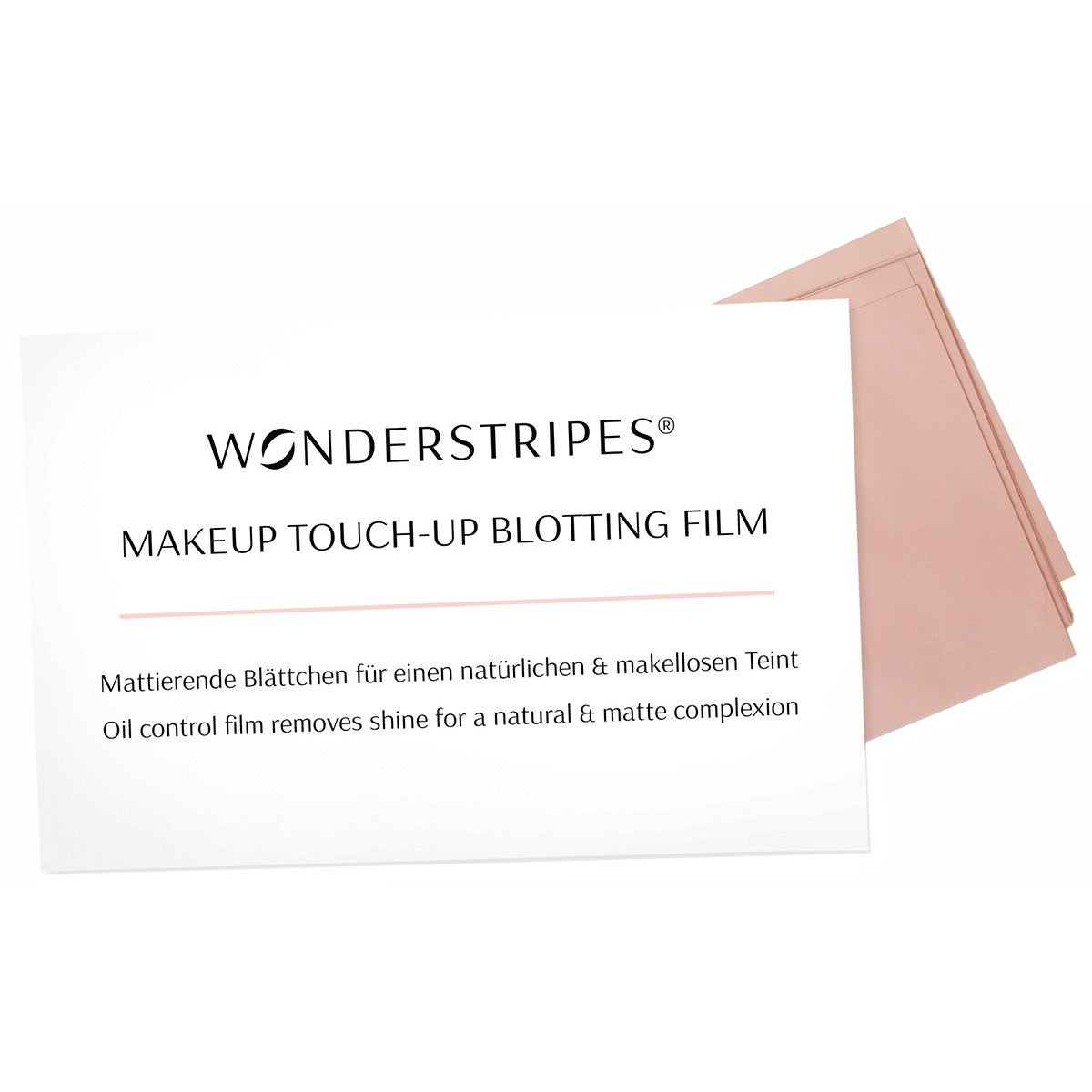 Wonderstripes Makeup Touch-up Blotting Film