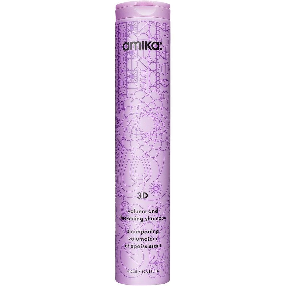 Bilde av 3d Volumizing And Thickening Shampoo, 300 Ml Amika Shampoo