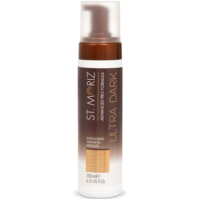 St Moriz Advanced Pro InstaGrad Tanning Mousse Ultra Dark