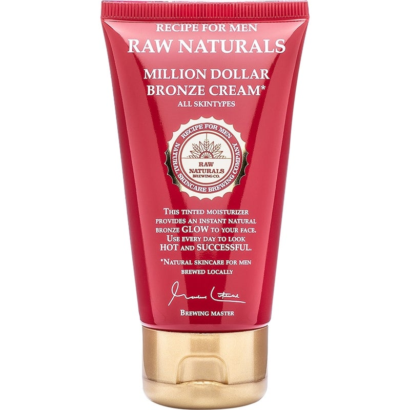 Raw Naturals by Recipe for Men Million Dollar Bronze Cream