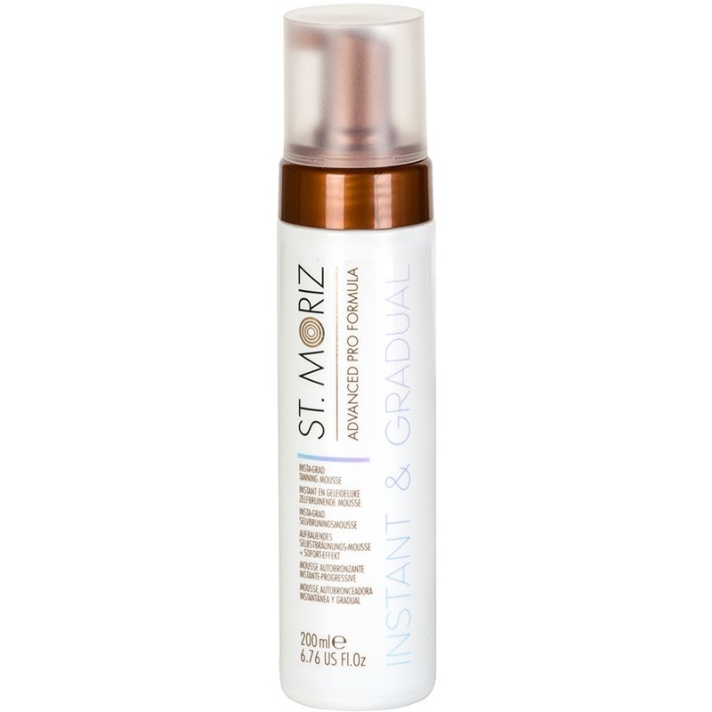 St Moriz Advanced Pro InstaGrad Tanning Mousse