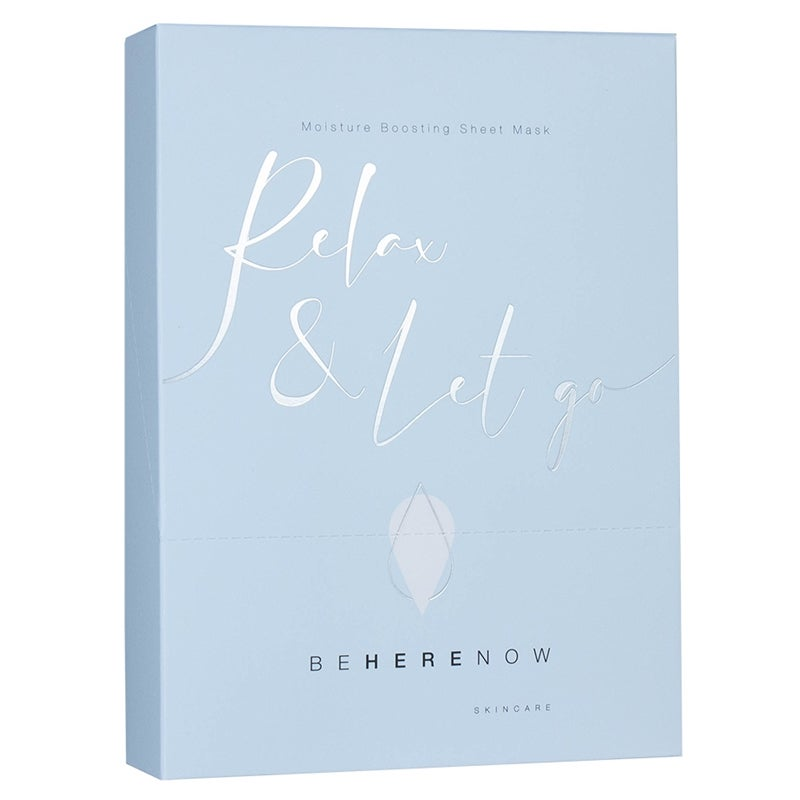 Be Here Now Skincare Relax & Let Go - Moisture Boosting Sheet Mask