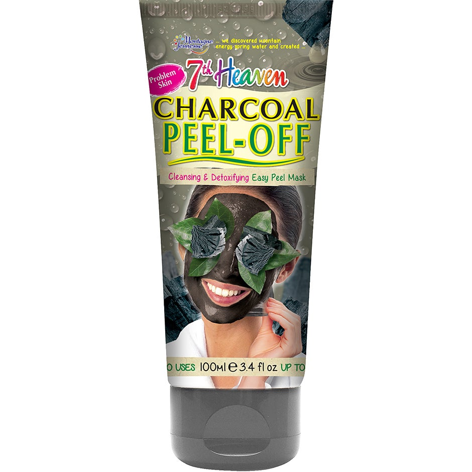 Bilde av Kjøp Charcoal Peel-off Mask, 100 Ml 7th Heaven Ansiktsmaske Fri Frakt
