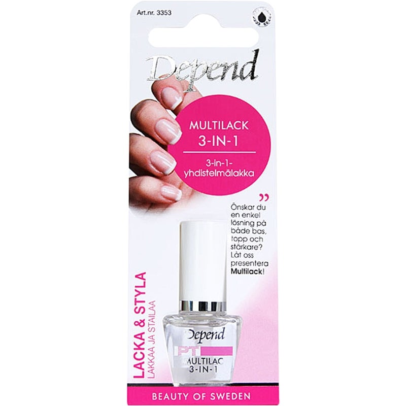 Depend Multi-Nail Polish 3-in-1
