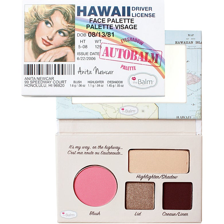the Balm Autobalm Hawaii Driver License