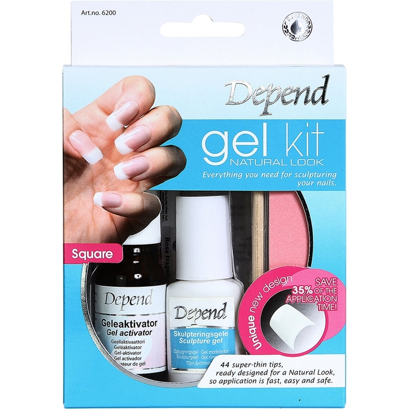 Depend Gel Kit Natural Look