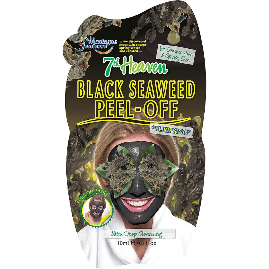 Bilde av Kjøp Montagne Jeunesse Black Seaweed Peel Off, 10ml 7th Heaven Ansiktsmaske Fri Frakt