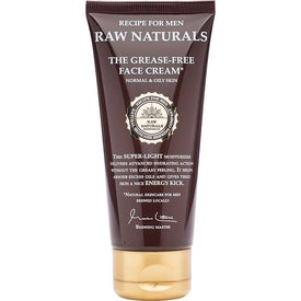 Raw Naturals by Recipe for Men The Grease-Free Face Cream