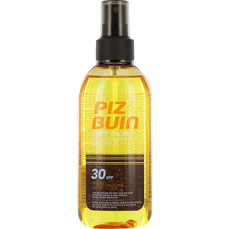 Piz Buin Wet Skin Transparent Sun Spray