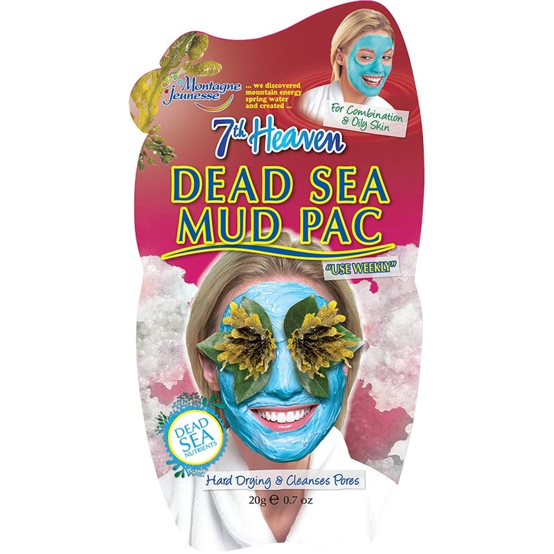 7th Heaven Dead Sea Mud Pac