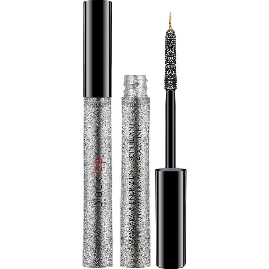 Bilde av Kjøp 2-in-1 Shimmering Mascara & Liner, 4,5ml Blackup Mascara Fri Frakt