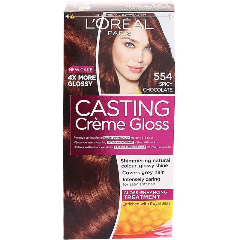 loreal casting hårfarge