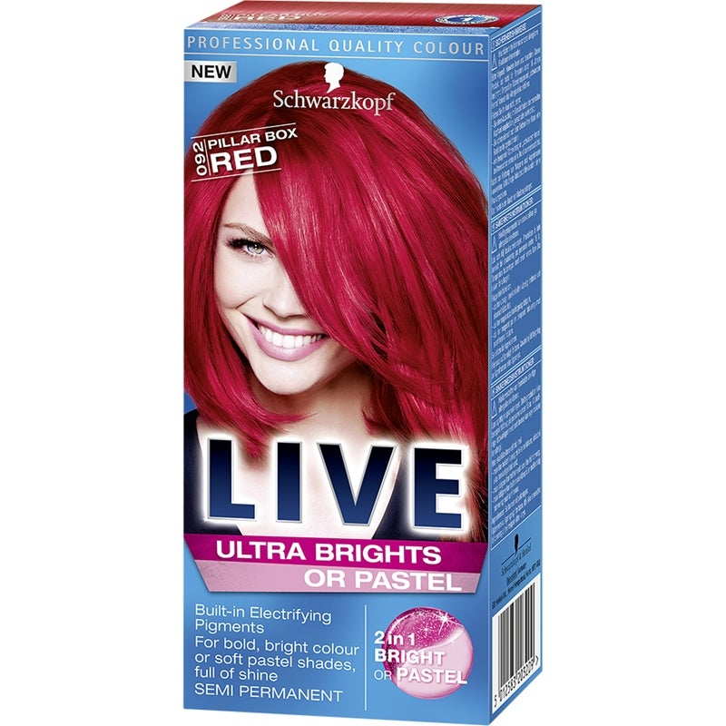 Schwarzkopf Live Color Ultra Brights Or Pastel