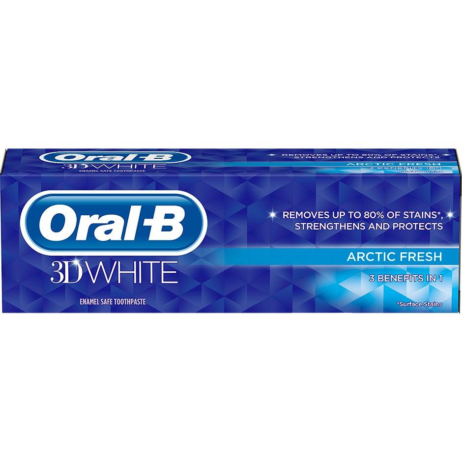 3D White Arctic Fresh  Oral-B Tannkrem Oral-B