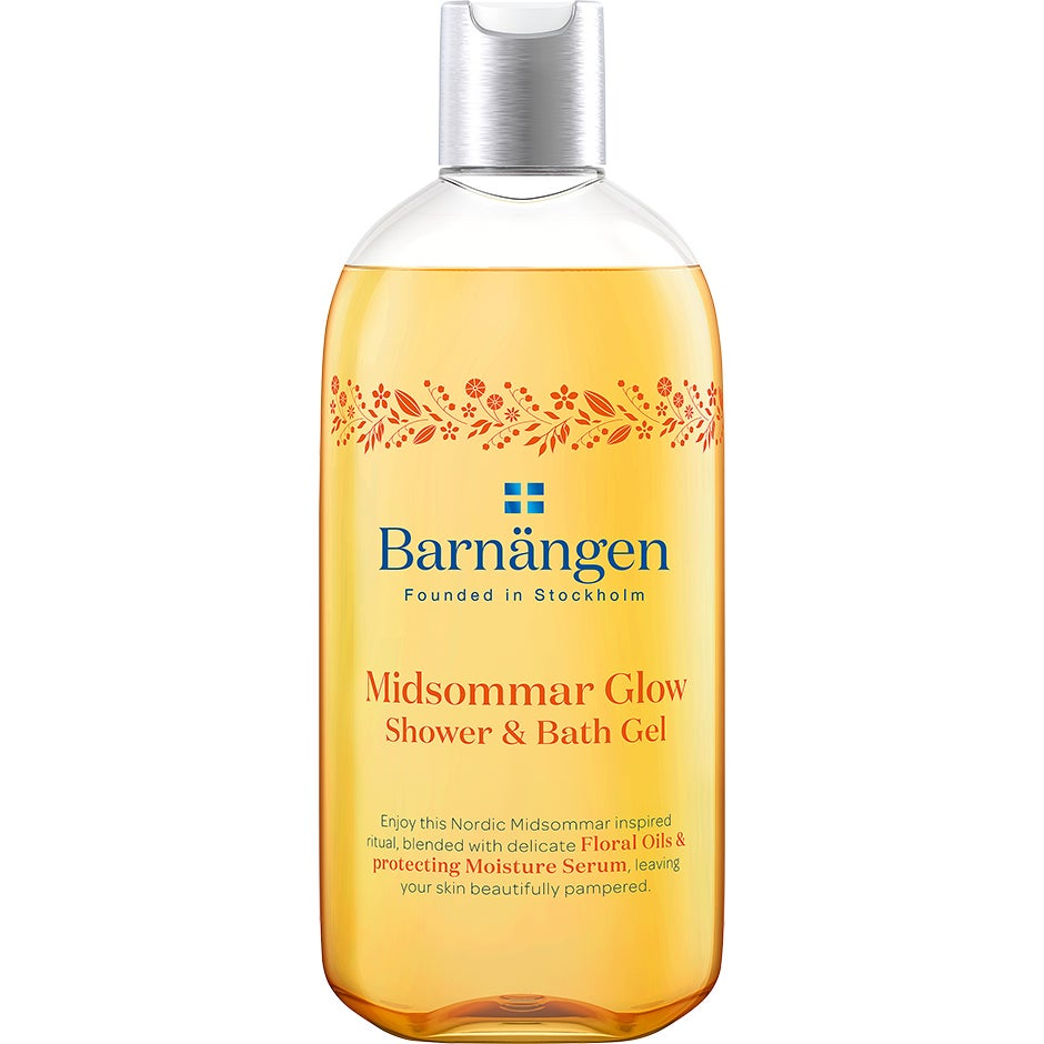 Bilde av Founded In Stockholm, Midsommar Glow Shower & Bath Gel 400 Ml Barnängen Shower Gel
