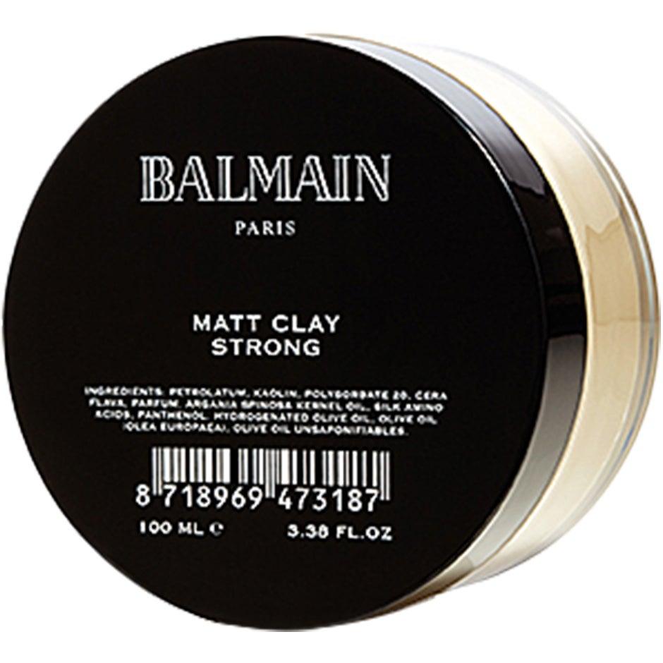 Bilde av Balmain Matt Clay, 100 Ml Balmain Hair Couture Hårvoks