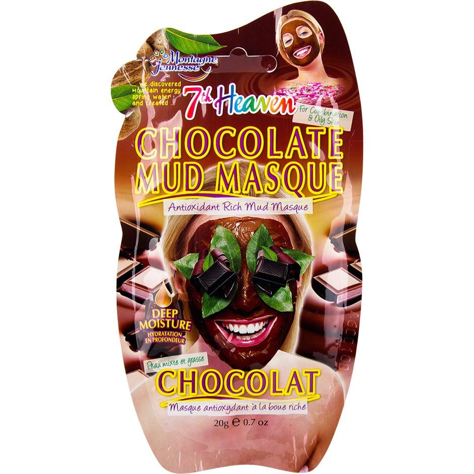 Bilde av Kjøp Montagne Jeunesse Chocolate Mud Mask, 20g 7th Heaven Ansiktsmaske Fri Frakt
