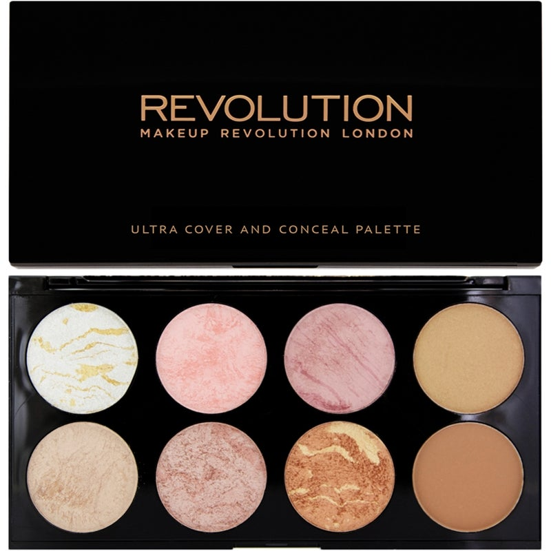 Ultra Blush And Countour Palette Golden Sugar
