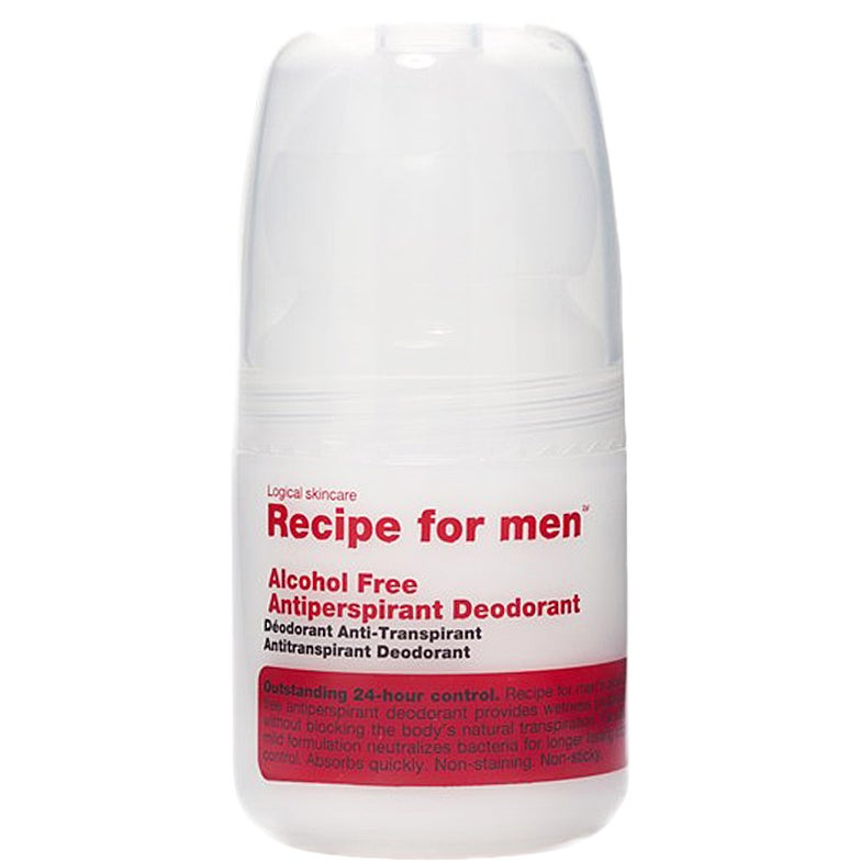 Recipe for men Antiperspirant Deodorant Alcohol Free