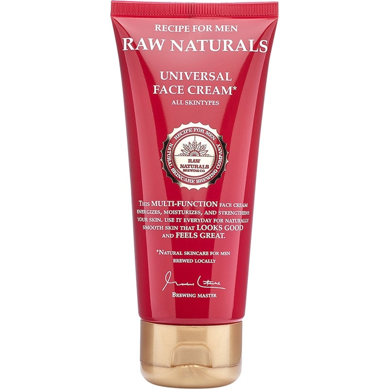 Raw Naturals by Recipe for Men Universal Face Cream