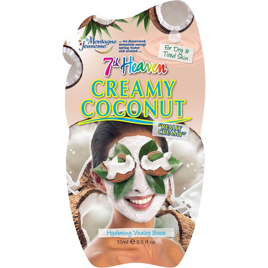 Bilde av Kjøp Creamy Coconut, 15ml 7th Heaven Ansiktsmaske Fri Frakt