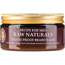 Raw Naturals by Recipe for Men Storm Proof Beard Balm