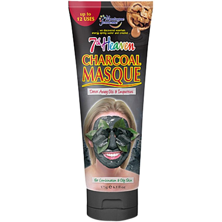 Bilde av Kjøp Charcoal Mud Masque, 175 Ml 7th Heaven Ansiktsmaske Fri Frakt