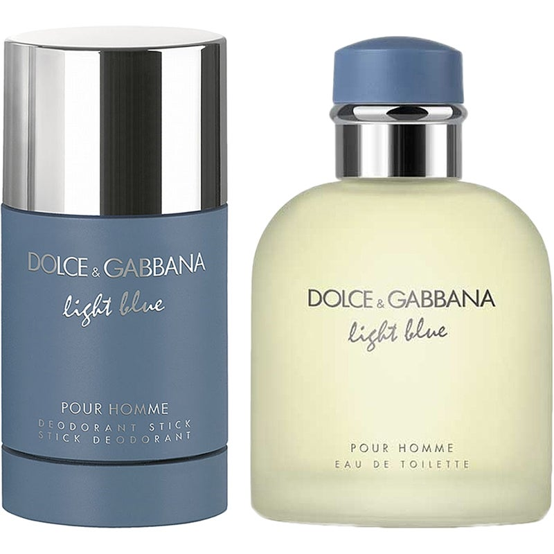 Dolce & Gabbana Light Blue Pour Homme Duo